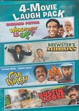 Richard Pryor 4-Movie Laugh Pack: Which Way is Up? / Brewster's Mill [DVD] NEW!