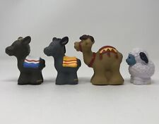 Fisher Price Little People Nativity Donkeys Camel Sheep Christmas Replacement