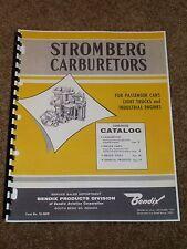 Bendix Stromberg Carburetor Parts Catalog 1934-1960 Listings,Part #s,MORE.......