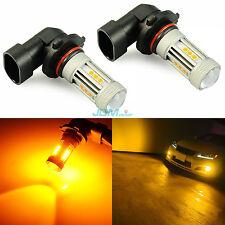 JDM ASTAR 9145 H10 Amber Yellow LED Fog Light DRL Driving Running Cornering Bulb