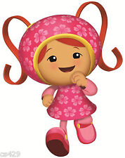 "10"" Team umizoomi milli birthday wall decal decor cut out character"