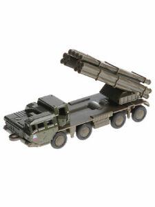 Smerch BM-30 Tornado MLSR Missile Complex Russian Army Diecast Model 1/72