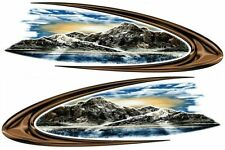 2 RV TRAILER CAMPER KEYSTONE MONTANA GRAPHICS DECALS -1989-3