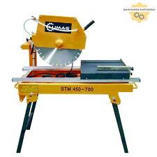 Lumag STM450-700 Steintrennmaschine Nassschneidetisch + Diamant-Trennscheibe 2kW