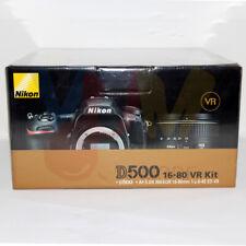 Nikon D D500 20.9MP Digital SLR Camera - Black (Kit w/ 16-80 AF-S DX ED VR...