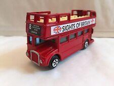 Pressofuso metallo LONDON mirino del bus GRAN BRETAGNA INGHILTERRA INGLESE REGALO SOUVENIR