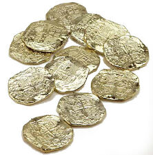 Gold Doubloons Plastic Pirate Treasure Pirate Coins Pirate Toy Money 22330
