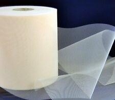 ROTOLO DI TULLE SETA 10CM X 50M tessuti decorazioni 012 10-008