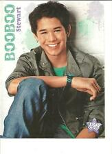 Booboo Stewart, Jaden Smith, Double Sided Full Page Pinup