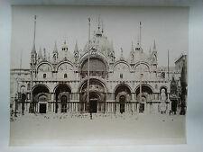 Photo 19 ème - Italie Italy - Venise Venice Venezia - Saint Marc - phot Salviati
