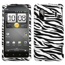 Zebra HARD Protector Case Snap On Phone Cover for HTC Hero S Evo Design 4G