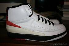 Jordan 2 II Sample White Black Red 1994 9 melo laney v
