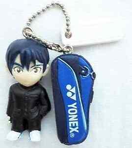 BANDAI The prince of Tennis Echizen Ryoma 5cm toy key chain Shonen Jump 33