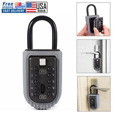 10 Digit Combination Key Lock Box Safe Storage Case Organizer Real Estate Box