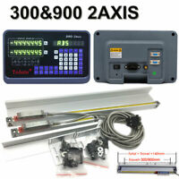 "12"" & 36"" 2 Axis Digital Readout Linear Scale Encoder DRO Milling Lathe Machine"