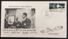 1972 space/rocket cover-Soyuz test project cover with Houston Texas cancel