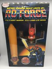 Vintage RO-FORCE Robot Laser Lite Sword Rogun Shogun Warriors Voltron Toy 1980's