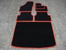 Tapis De Sol Voiture noir/Rouge Bordure pour VW/Volkswagen Tiguan 07-16 + Coffre