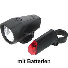 Trelock 30-fb 01-rb bicicleta 30 lux iluminación LED set retr luz frontal lámpara