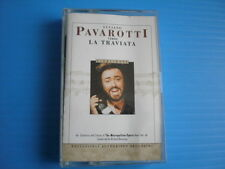 Luciano Pavarotti Verdi LA Traviata Highlights 1991 / Cassette Album Tape.