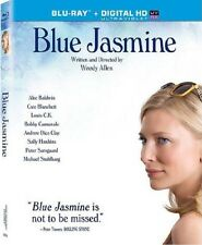 BLUE JASMINE w/SLIPCOVER (Blu-ray + HDUV, 2014) Cate Blanchett [See Description]