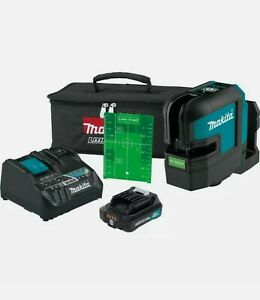 Makita SK105GDNAX 12 volt max 2.0 Ah CXT Cordless Green Beam Laser Kit