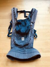 Ergobaby Organic Ergo Original Baby To Toddler Carrier Navy Blue 3-Position