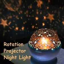 Rotation Night Projector Star Sky Kids Luminous Light Lamp Romantic Fairy Decor