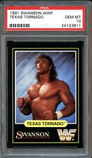 1991 Swanson WWF Texas Tornado PSA 10 GEM MINT. POP 2. None higher. RARE