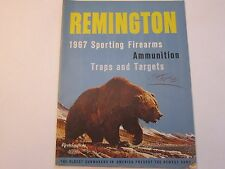 1967 Remington Sporting Firearms & Ammunition Rifle Catalog LOTS More Listed