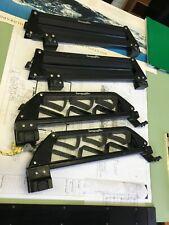 2 sets -Barrecrafters Flat Ski/Snowboard & Ski Racks, fits square or Round bars