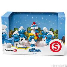 Schleich da 20729 a 20734 Box 41260 The smurfs 3D schlumpfe schtroumpf pitufo