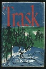 Scarce TRASK Novel H/C BOOK DJ 1960 1st EDITION Desperate Quest in Early Oregon