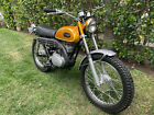 1969 Yamaha DT1 250 ENDURO  Original paint, tank and covers / polished and re-chromed