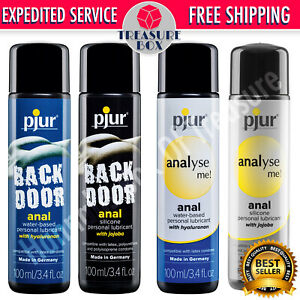PJUR ANAL BACKDOOR ANALYSE ME Personal Lubricant Premium Lube 100% Authentic