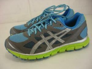 Asics T2J6N Women's 9 M Gel-Scram Running Shoes Sneaker Blue Gray Green Marathon