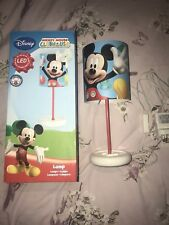 Disney Mickey Mouse Clubhouse Childrens LED Lamp Bedroom Light Kids Lamp RARE!!
