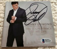 Donny Osmond Soundtrack of My Life 2014 Cd Signed Autographed Bgs Authentic