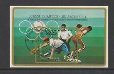 Nicaragua - 1984,Jeux Olympiques,Los Angeles,Baseball Feuille - F/U - Sg MS2616