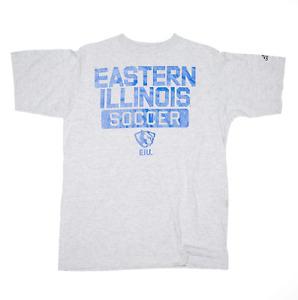 ADIDAS Eastern Illinois Panthers Grey Regular USA Short Sleeve T-Shirt Boys L