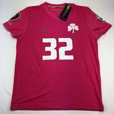 New NWT Mizuno Panathinaikos FC Pink Soccer Jersey #32 Rare