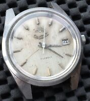 Orient 20321 Manuel Hand Winding Watch Vintage Montre 35,3 mm Fonctionnel