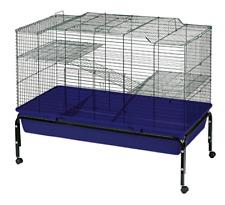 Heritage 2-Tier Rabbit 100cm Cage Double Decker Bunny Pet Indoor Hutch Rat Play