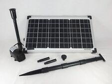 Solar Pumpenset WaterSplash 1350  Solarpumpe Teichpumpe Tauchpumpe Gartenpumpe