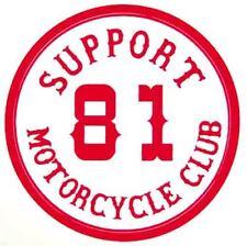 Support 81   Vintage Looking   Biker Motorcycle Club Angels  Sticker