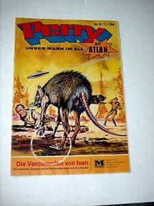 PERRY, unser Mann im All  Nr. 8 - Die verdammten von ISAN (Moewig 1968-75)