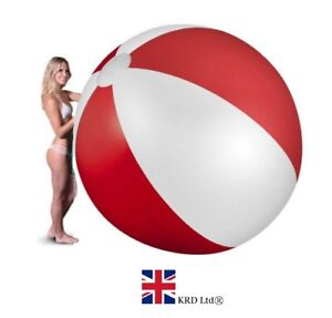 """59"""" GIANT INFLATABLE BEACH BALL Kids Pool Summer Outdoor Fun Panel Toy 150cm UK"""