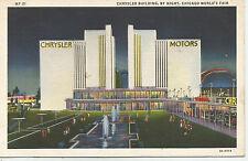 Chrysler Building by Night, Chicago World's Fair, Century of Progress, 1933 PC
