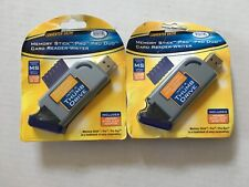 2 Digital Concepts Converter Drive Memory Stick/Pro/Pro Duo Card Reader Writers