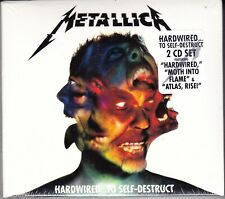 2 CD ♫ Box Set METALLICA • HARDWIRED TO SELF DESTRUCT nuovo sigillato digipack